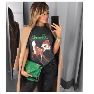 GORGEOUS ZARA NWT Disney Bambi T-Shirt